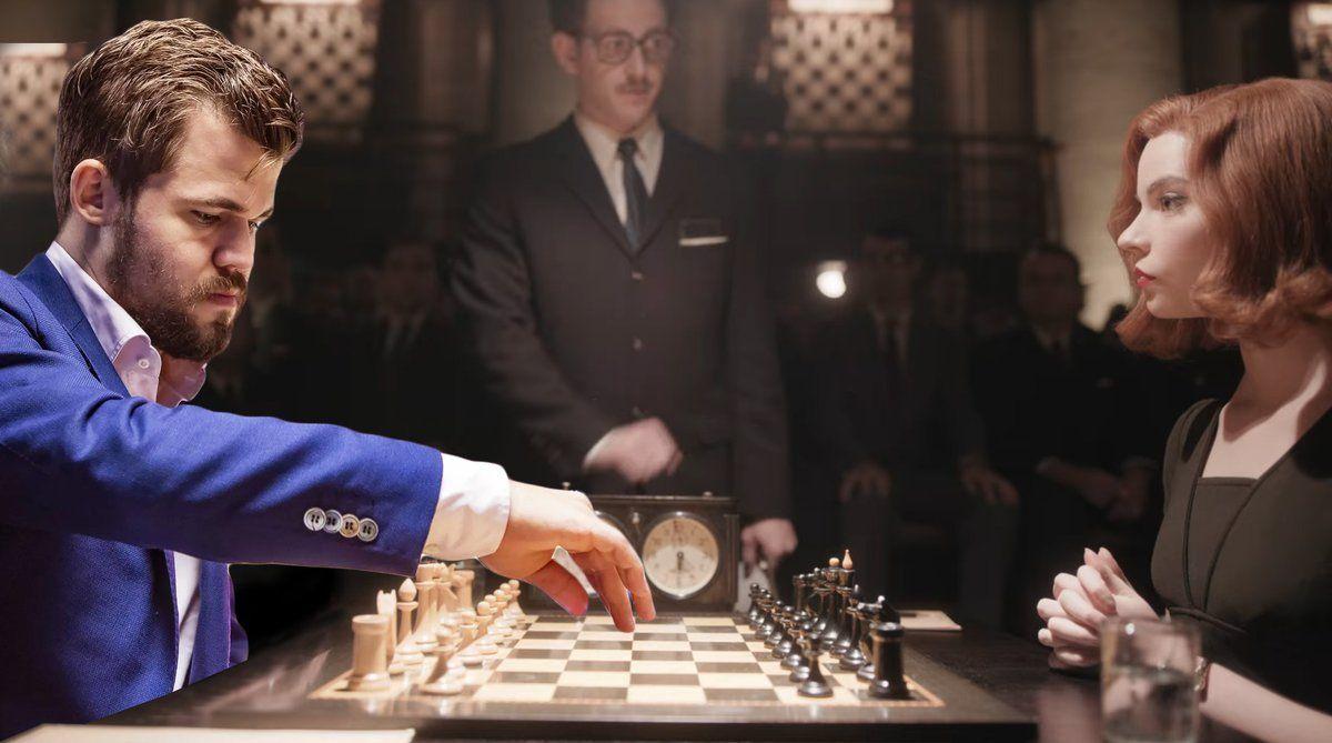 Magnus Carlsen on The Queens Gambit